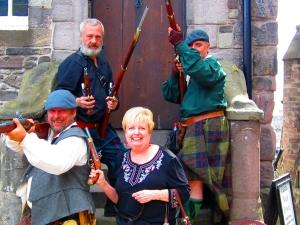 Wild highlanders w Rebel Gerry