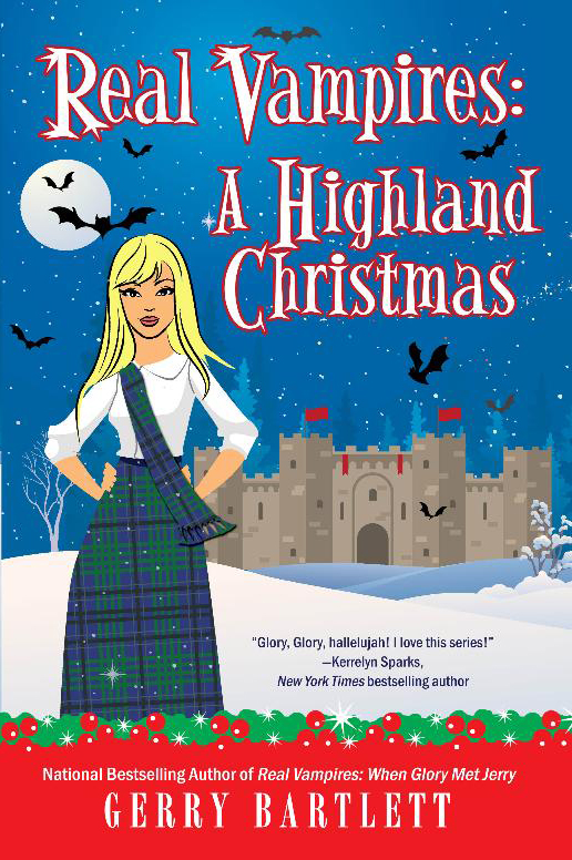 Real Vampires Highland Christmas front cover
